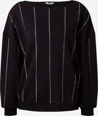 LTB Pullover 'Basedo' in schwarz / silber, Produktansicht