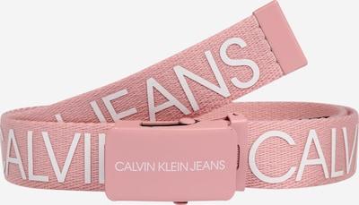 Calvin Klein Jeans Gürtel in rosa / weiß, Produktansicht