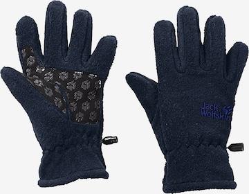 JACK WOLFSKIN Handschuhe in Blau