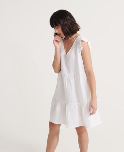Superdry Kleid in weiß, Modelansicht