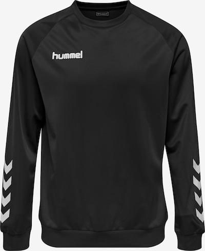Hummel Athletic Sweatshirt 'Poly' in Black / White, Item view