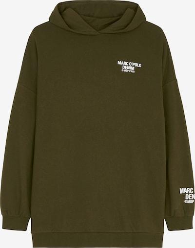 Marc O'Polo DENIM Oversize-Hoodie ' aus Organic-Cotton-Mix ' in dunkelgrün, Produktansicht