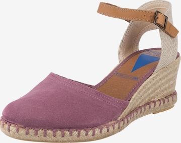 VERBENAS Sandalette 'Serraje' in Pink