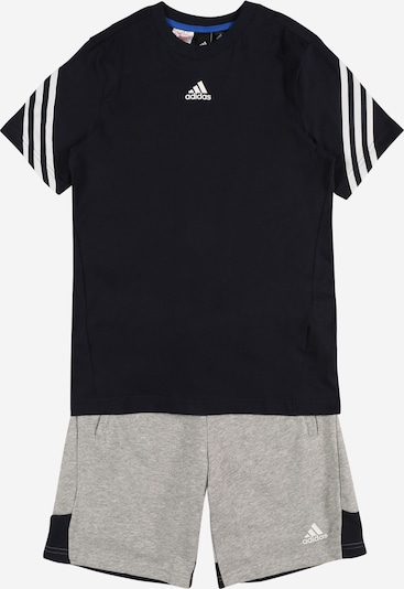 ADIDAS PERFORMANCE Chándal en gris / negro, Vista del producto