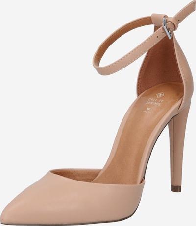 CALL IT SPRING Vaļējas augstpapēžu kurpes 'DALINNA' gaiši bēšs, Preces skats