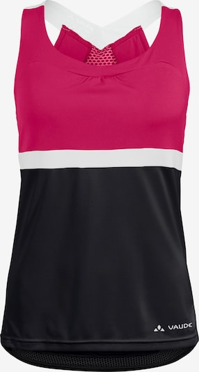 VAUDE Funktionsshirt 'Women's Advanced Top' in pink / schwarz, Produktansicht