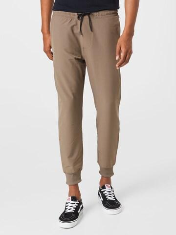 Pantalon Abercrombie & Fitch en marron