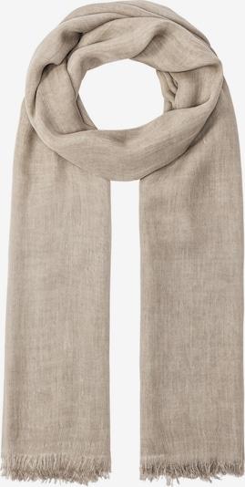 HALLHUBER Cold-Dye-Schal in beige / kitt, Produktansicht