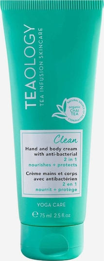 Teaology Bodylotion 'Yoga Care Clean' in weiß, Produktansicht