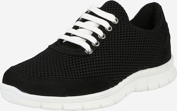 thies Rövid szárú edzőcipők - fekete