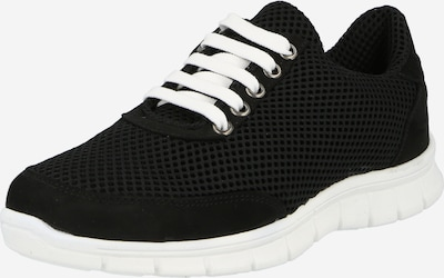 Sneaker low thies pe negru, Vizualizare produs
