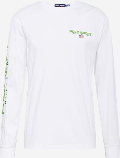 POLO RALPH LAUREN Shirt in navy / hellgrün / rot / weiß, Produktansicht