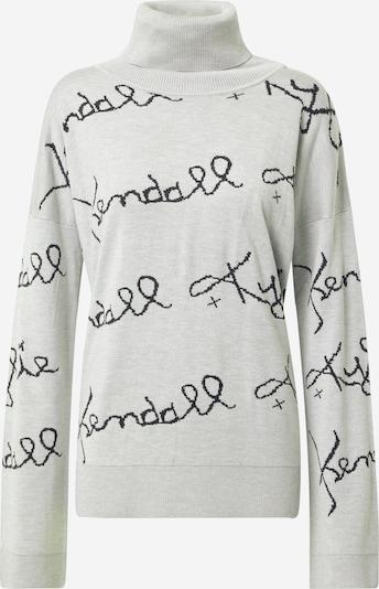KENDALL + KYLIE Sweter w kolorze jasnoszary / czarnym: Widok z przodu