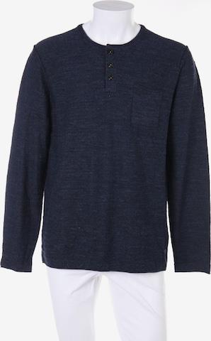 s.Oliver Baumwoll-Pullover in XL in Blau