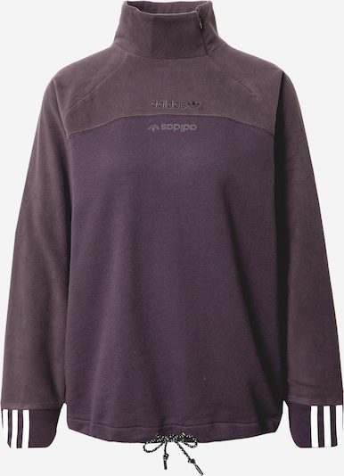 ADIDAS ORIGINALS Sweatshirt in de kleur Donkerlila / Wit, Productweergave