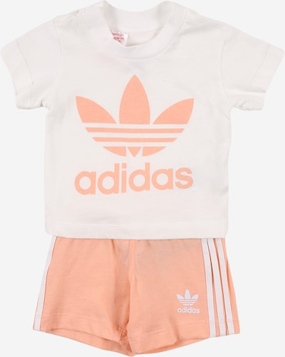 ADIDAS ORIGINALS Set in altrosa / weiß, Produktansicht