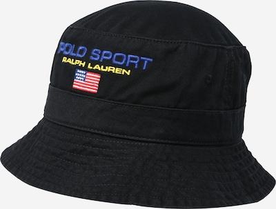 Polo Ralph Lauren Chapeaux en bleu / jaune / rouge clair / noir / blanc, Vue avec produit