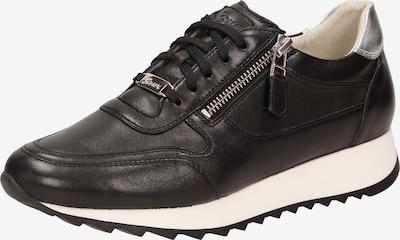 SIOUX Sneaker 'Oseka' in schwarz / silber, Produktansicht