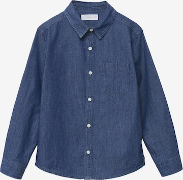 MANGO KIDS Skjorta 'DANIEL' i blå