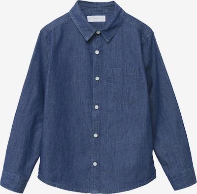 MANGO KIDS Hemd 'DANIEL' in blue denim, Produktansicht