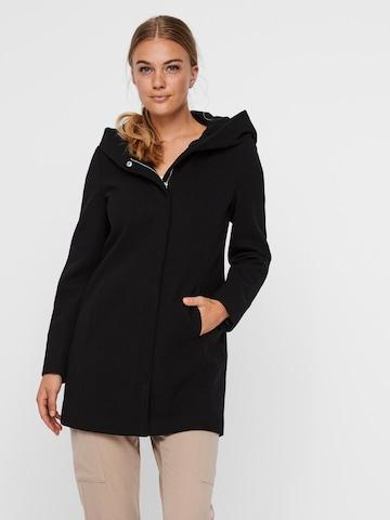 VERO MODA Prechodný kabát 'Dafnedora' - Čierna