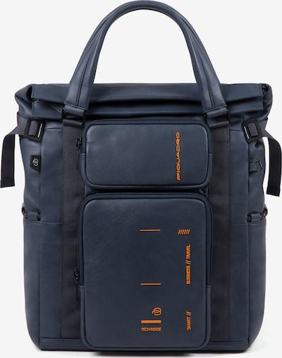 Piquadro Kyoto Businessrucksack Leder 41 cm Laptopfach in blau, Produktansicht