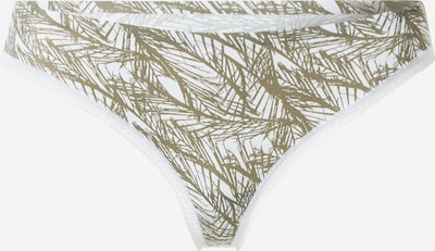 Calvin Klein Underwear String in hellgrau / oliv, Produktansicht