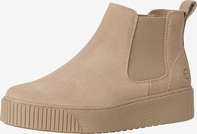 TAMARIS Chelsea Boots in beige, Produktansicht