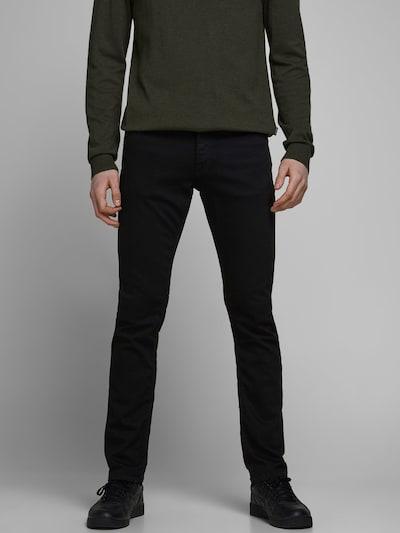 JACK & JONES Jeans 'Glenn Felix' in black denim, Modelansicht