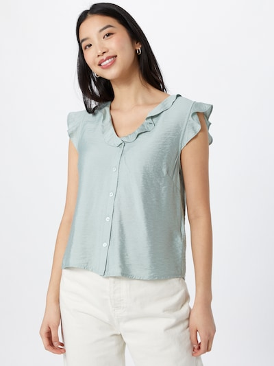 ABOUT YOU Bluse 'Lina' in mint, Modelansicht