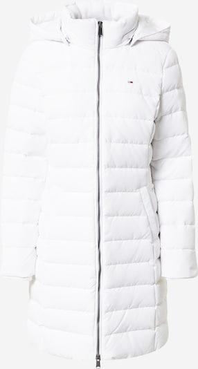 Tommy Jeans Χειμερινό παλτό σε λευκό, Άποψη προϊόντος