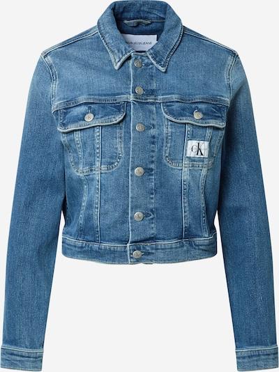Calvin Klein Jeans Veste mi-saison en bleu denim: Vue de face