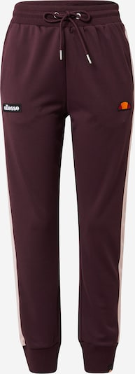 ELLESSE Sports trousers 'Agnes' in dusky pink / wine red, Item view