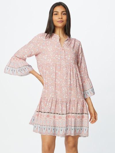 ZABAIONE Shirt Dress 'Esra' in Mixed colors / Peach, View model