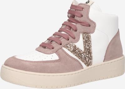 VICTORIA Zapatillas deportivas altas en beige / oro / rosé, Vista del producto
