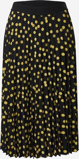COMMA Jupe en jaune / noir, Vue avec produit