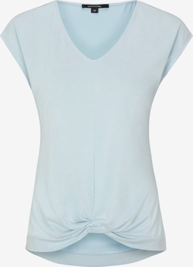 COMMA Shirt in pastellblau: Frontalansicht