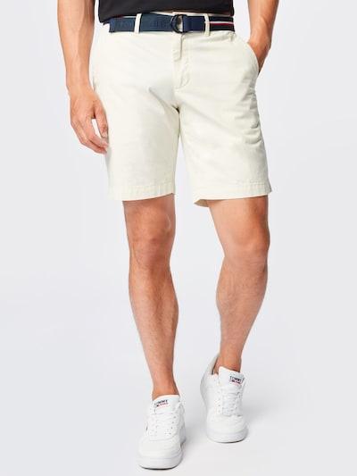 TOMMY HILFIGER Pantalon chino 'BROOKLYN' en ivoire / blanc, Vue avec modèle