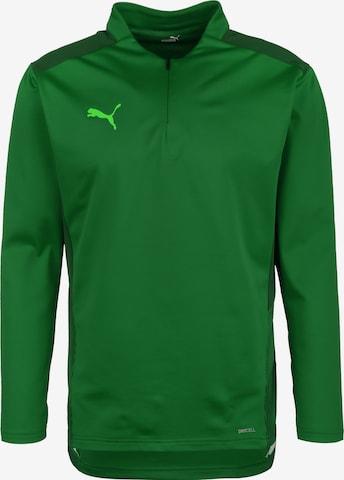 Sweat de sport PUMA en vert