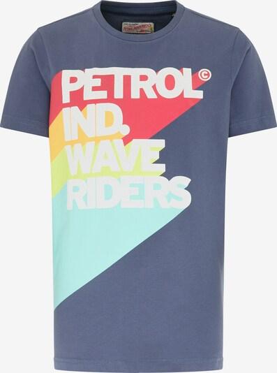 Petrol Industries T-Shirt in dunkelblau / mischfarben, Produktansicht
