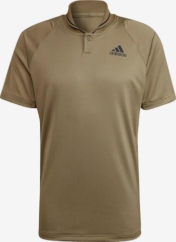 brūns ADIDAS PERFORMANCE Sporta krekls