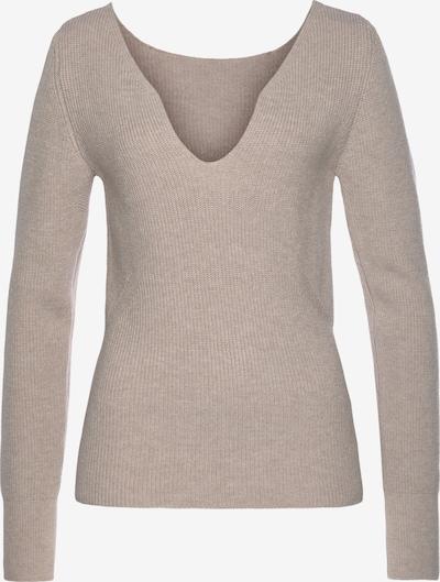 LASCANA Sweater in mottled beige, Item view