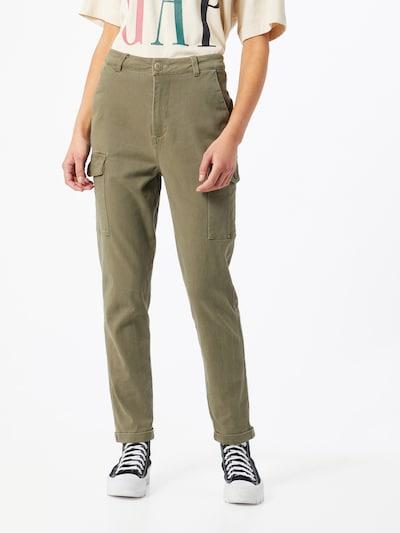 Hailys Hose 'Cary' in khaki, Modelansicht
