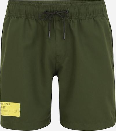 G-Star RAW Plavecké šortky 'Dirik' - žlutá / olivová, Produkt
