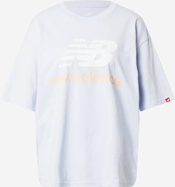 new balance Shirt 'Essentials' in Grau