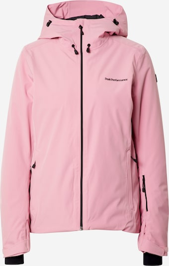 PEAK PERFORMANCE Veste outdoor 'Anima' en rose, Vue avec produit