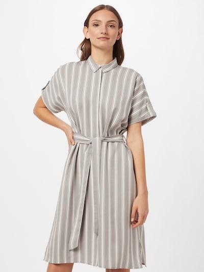 MORE & MORE Košilové šaty - šedá / bílá, Model/ka