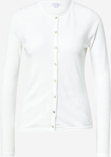 OVS Gebreid vest in de kleur Wit, Productweergave
