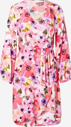 Rochie tip bluză La petite étoile pe crem / lila / roz / roz pitaya / roșu rodie, Vizualizare produs