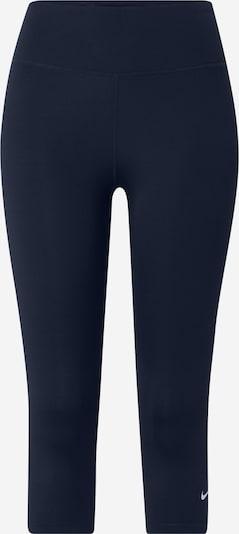 NIKE Pantalon de sport en marine / blanc, Vue avec produit